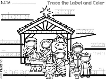 NATIVITY Label and Color