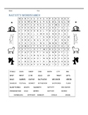 NATIVITY WORD SEARCHES, BUNDLE 13 PAGES, CHRISTMAS ACTIVITIES