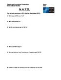 Grade 6 Social Studies: NATO Fact Finding Activity