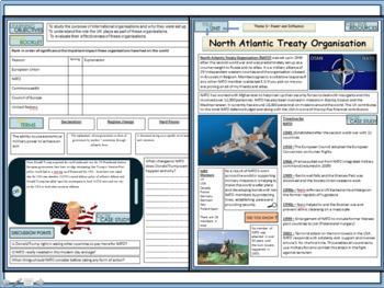 NATO History Activity Pack