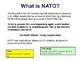 NATO and WTO in 2017 - European and British Politics