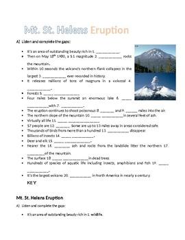 NATURAL DISASTERS: Mt. St. Helens Eruption