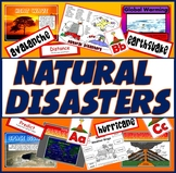NATURAL DISASTERS TEACHING RESOURCES GEOGRAPHY VOLCANO EARTHQUAKE TSUNAMI etc