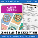 NATURAL RESOURCES - Demo, Labs and Science Stations