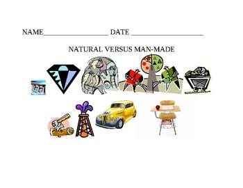 NATURAL VERSUS MAN-MADE
