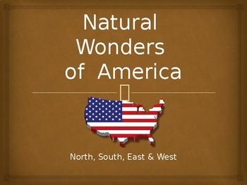 NATURAL WONDERS OF AMERICA