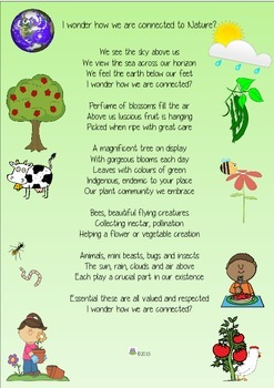 NATURE AND OUR CONNECTIONS - ORIGINAL POEM AND ACTIVITIES