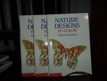 NATURE DESIGNS TO COLOR           (SET OF 3)
