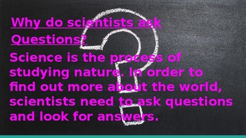 NATURE OF SCIENCE Powerpoint