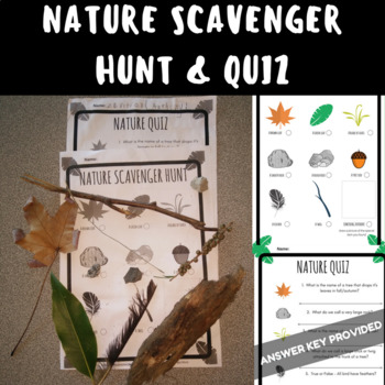 SCAVENGER HUNT Science