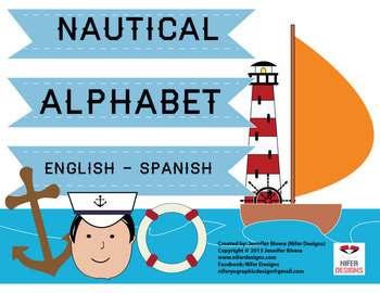 NAUTICAL ALPHABET ENGLISH SPANISH español