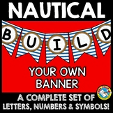 NAUTICAL BANNERS (NAUTICAL THEME CLASSROOM DECOR) NAUTICAL