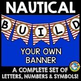 NAUTICAL BULLETIN BOARD LETTERS (NAUTICAL THEME CLASSROOM