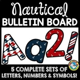 NAUTICAL CLASSROOM DECOR (NAUTICAL BULLETIN BOARD LETTERS