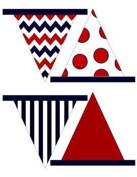 NAUTICAL Pennant Flags