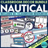 Nautical Classroom Theme Decor Google Classroom
