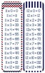 NAUTICAL Times Tables