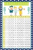NAUTICAL lime - Classroom Decor: Multiplication POSTER - s