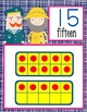 NAUTICAL pink - Number Line Banner, 0 to 20, Illustrated,