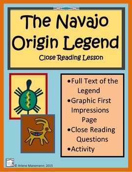 NAVAJO ORIGIN LEGEND Close Reading