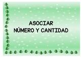 NAVIDAD. ASOCIAR NÚMERO Y CANTIDAD. CHRISTMAS   Associate Number &  Quantity