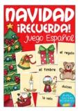 NAVIDAD (Christmas) matching cards Spanish vocabulary game