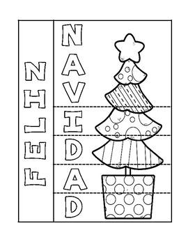 NAVIDAD Make your own Christmas card