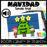 Sonido final | Christmas Final Sounds Boom Cards™ in Spanish