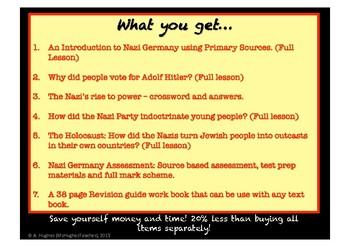 NAZI GERMANY HISTORY BUNDLE