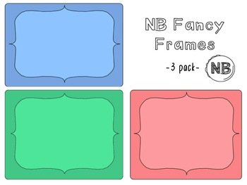 NB Fancy Frame Border Pack