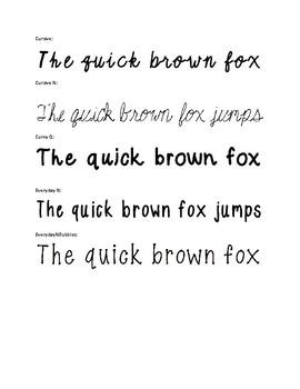 NB Fonts!