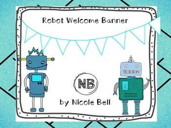 NB Robot Welcome Banner