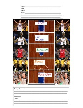 NBA Behavior Folder