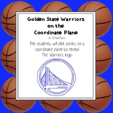 NBA Graphing Activity - Golden State Warriors on a Coordin