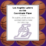 NBA Graphing Activity - Los Angeles Lakers on a Coordinate Plane