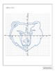 NBA Graphing Activity - Memphis Grizzlies on a Coordinate Plane