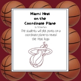 NBA Graphing Activity - Miami Heat on a Coordinate Plane