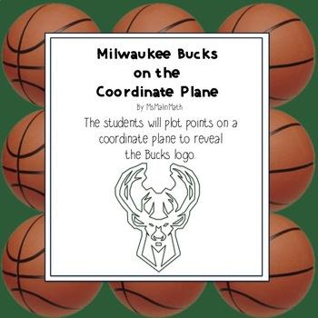 NBA Graphing Activity - Milwaukee Bucks on a Coordinate Plane