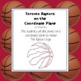 NBA Graphing Activity - Toronto Raptors on a Coordinate Plane