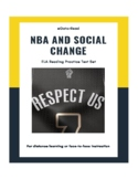 NBA and Social Change FSA/ Common Core ELA Reading Practice Test