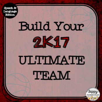 NBA2K17 inspired Build Your Own Basketball Ultimate Team (Speech & Lang Edition)