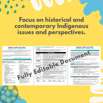 NBE3U Final Project - Formal Research Essay & Seminar Presentation
