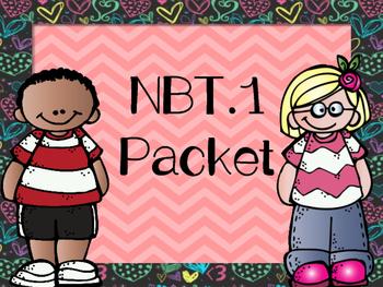 NBT.1 Learning Numbers Bundle