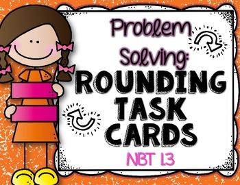 Rounding: Task Cards