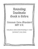 NBT 5.4 Rounding Seek n Solve