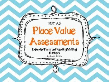 NBT.A.3 Place Value Assessment / Practice