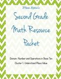 NBT Cluster 1: Understand Place Value Second Grade Bundle