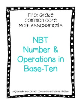 NBT Common Core Math Assessments
