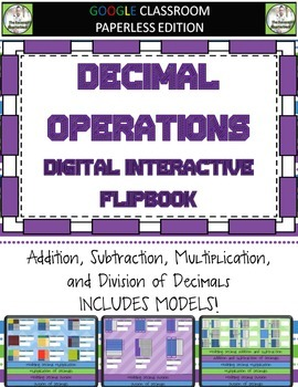 Digital Interactive Notebook Bundle for Google Classroom - NBT