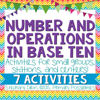 NBT- Number and Operations in Base Ten Activities {Common